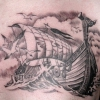 Что означает татуировка корабль