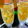 Французский крюшон с ананасами и шампанским