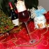Горячий ликер из красного вина