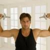 Как быстро гантелями накачать мышцы