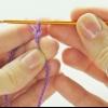 Как набрать петли, чтобы вязать крючком