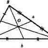 Как найти центр тяжести треугольника