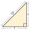 Как определить углы в прямоугольном треугольнике