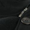 Как почистить черное драповое пальто