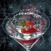 Как приготовить коктейль из шампанского с клубникой