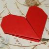 Как сделать сердце в оригами