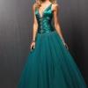 Как украсить платье пайетками
