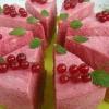 Малиновый торт-суфле без выпечки
