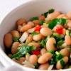 Салат «фасоль с чесноком»