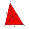 Как найти длину медианы в треугольнике