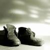 Как очистить соль с кожаной обуви