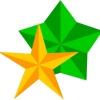 Как вырезать звезду из бумаги